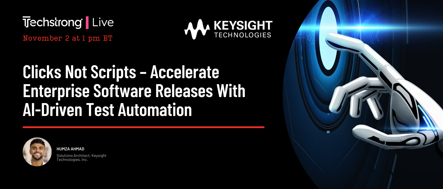 Clicks Not Scripts – Accelerate Enterprise Software Releases With AI-Driven Test Automation