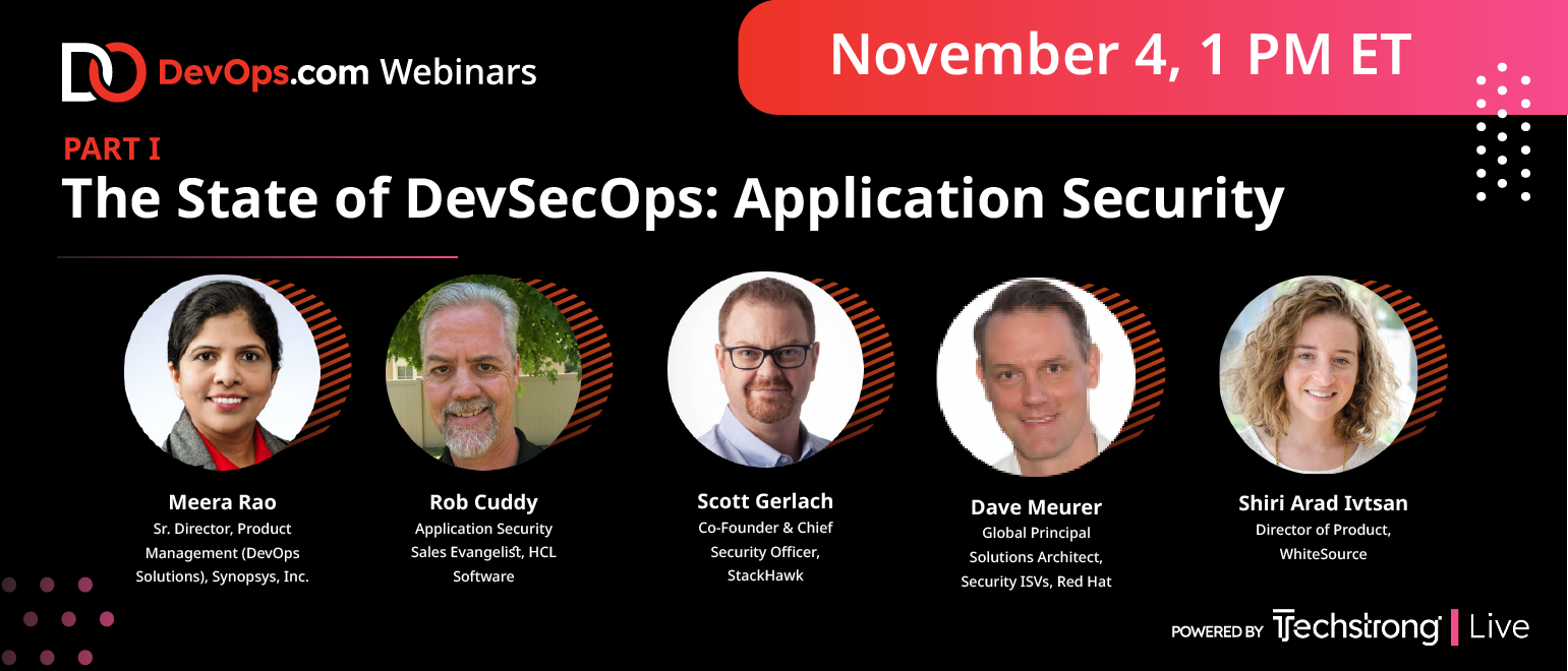 The State of DevSecOps: Application Security